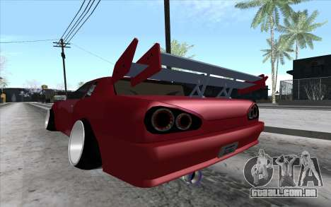Tuned Elegy para GTA San Andreas vista direita