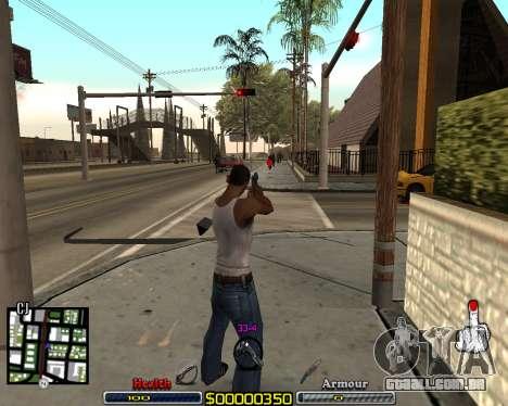 C-HUD by qrt para GTA San Andreas terceira tela