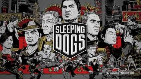 Tela de inicialização dormindo cães para GTA 4