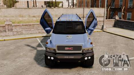 GMC Tough Guy para GTA 4 vista interior