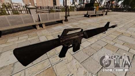 Fuzil M16A4 Vietnam para GTA 4 segundo screenshot