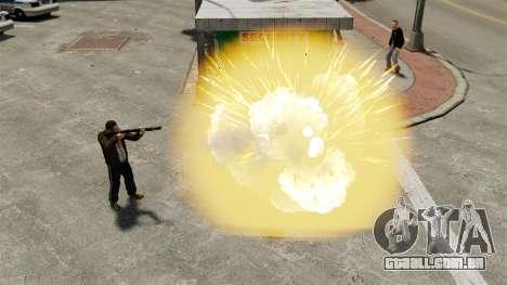Balas explosivas para GTA 4 segundo screenshot