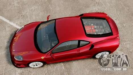 Ferrari F430 Scuderia 2007 para GTA 4 vista direita