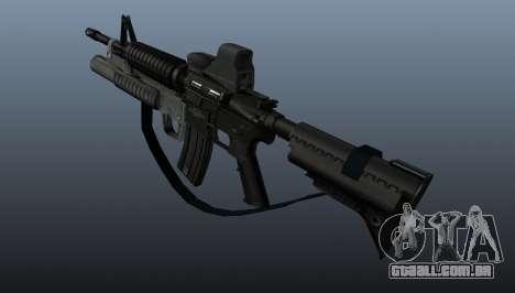 Carabina automática M4A1 v3 para GTA 4 segundo screenshot