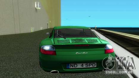 Porsche 911 Turbo para GTA Vice City vista direita