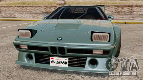 BMW M1 [EPM] para GTA 4 interior