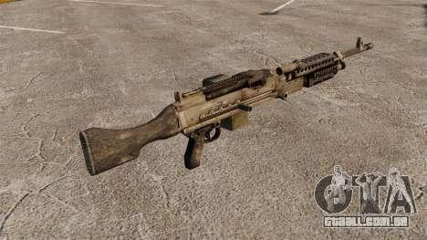 Metralhadora de uso geral M240B para GTA 4 segundo screenshot