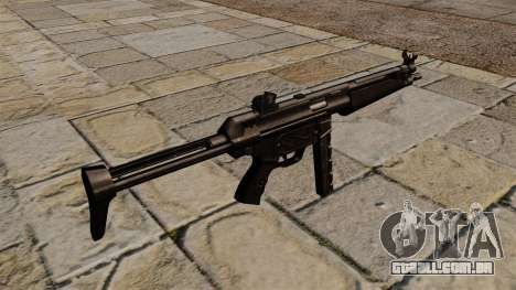 Pistola-metralhadora MP5 preto perseguidor para GTA 4 segundo screenshot