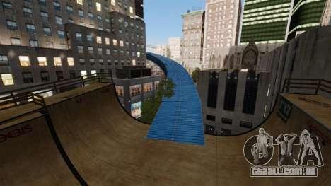 Algonquin Stunt Ramp para GTA 4 por diante tela
