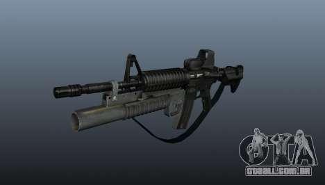 Carabina automática M4A1 v3 para GTA 4