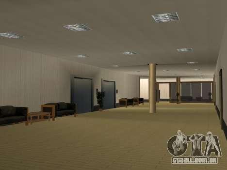 Novas texturas Interior da prefeitura para GTA San Andreas nono tela