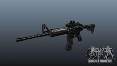Carabina automática M4A1 tático para GTA 4