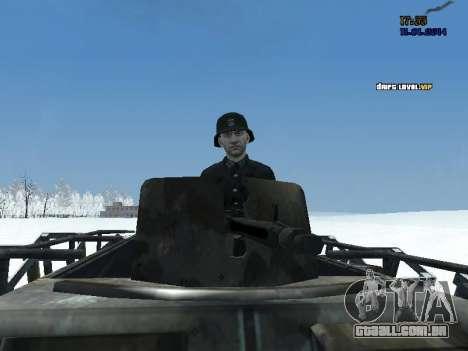 SdKfz 251 para GTA San Andreas vista direita