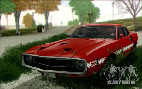 Shelby GT500 428 Cobra Jet 1969 v1.1 para GTA San Andreas