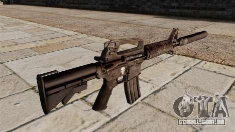 Carabina M4 SMG com silenciador para GTA 4 segundo screenshot
