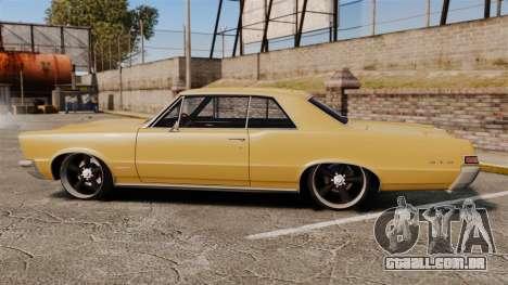 Pontiac GTO 1965 para GTA 4 esquerda vista