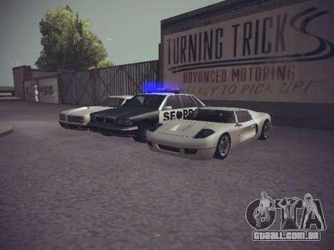 GTA SA Low Style v1 para GTA San Andreas sexta tela