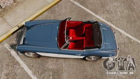 Austin-Healey 3000 Mk III 1965 para GTA 4 vista direita
