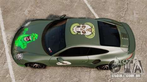 Porsche 911 Turbo 2014 [EPM] Ghosts para GTA 4 vista direita
