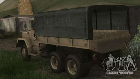 AM General M35A2 1950 para GTA San Andreas esquerda vista