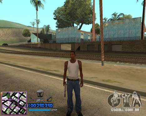 C-HUD by Dony Scofield para GTA San Andreas segunda tela