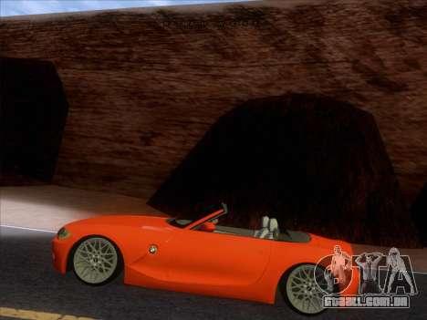 BMW Z4 Edit para GTA San Andreas vista direita