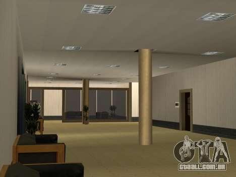 Novas texturas Interior da prefeitura para GTA San Andreas oitavo tela