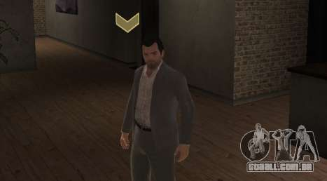 Michael De Santa from GTA V para GTA 4 segundo screenshot