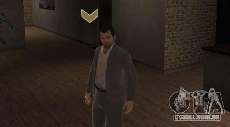 Michael De Santa from GTA V para GTA 4 segundo screenshot