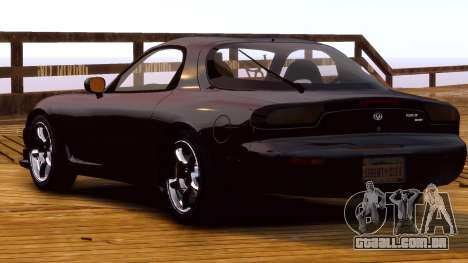 Mazda RX-7 FD 1999 para GTA 4 vista direita