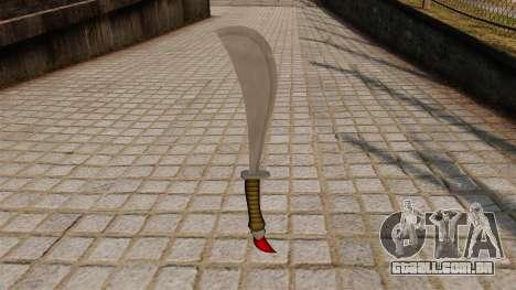 Punhal para GTA 4