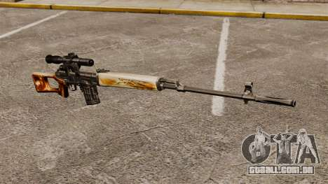 Dragunov sniper rifle v1 para GTA 4