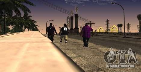 HQ SkinPack Ballas para GTA San Andreas terceira tela