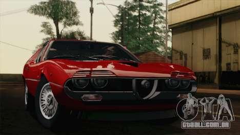 Alfa Romeo Montreal (105) 1970 para GTA San Andreas vista direita