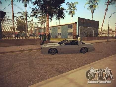 GTA SA Low Style v1 para GTA San Andreas por diante tela