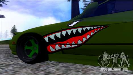 Nissan Onevia Shark para GTA San Andreas traseira esquerda vista