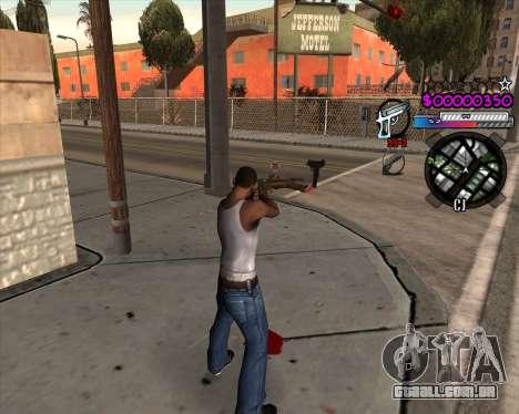 C-HUD by Andy Cardozo para GTA San Andreas segunda tela