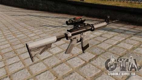 Carabina automática M4A1 com escopo para GTA 4 segundo screenshot