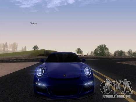 Porsche 911 GT3 2014 para GTA San Andreas vista traseira