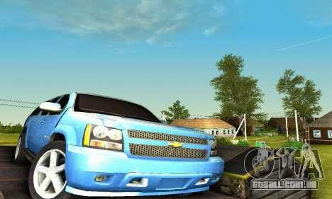 Chevrolet Suburban 2008 para GTA San Andreas interior