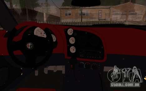 Alfa Romeo TZ3 2011 para GTA San Andreas vista traseira