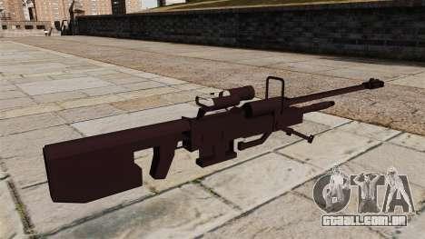 Rifle sniper de Halo para GTA 4 segundo screenshot