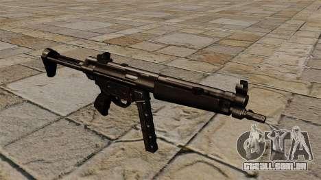 Pistola-metralhadora MP5 preto perseguidor para GTA 4