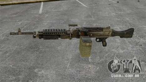 Metralhadora de uso geral M240B para GTA 4 terceira tela