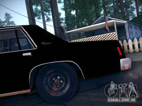 Ford LTD Crown Victoria 1985 para vista lateral GTA San Andreas