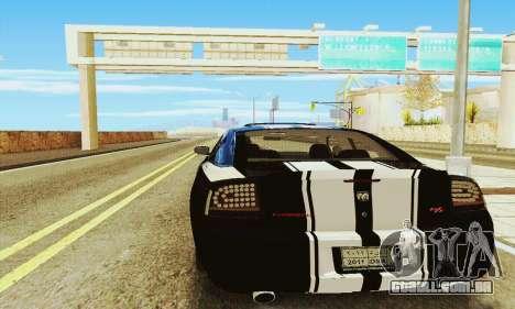 Dodge Charger DUB para GTA San Andreas vista direita