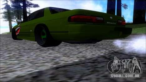 Nissan Onevia Shark para GTA San Andreas esquerda vista