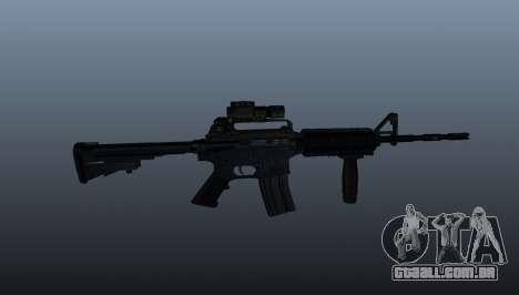Carabina automática M4A1 Grip para GTA 4 terceira tela