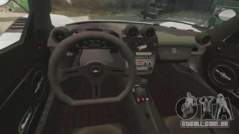 Modena Typhoon para GTA 4 vista de volta