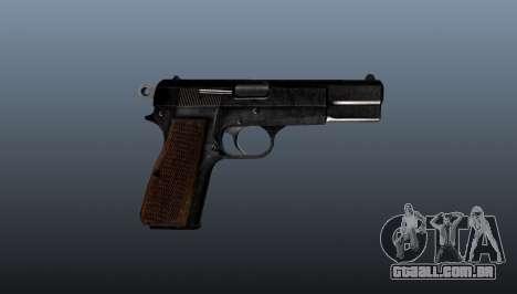 Carregamento automático pistola Browning Hi-Powe para GTA 4 terceira tela